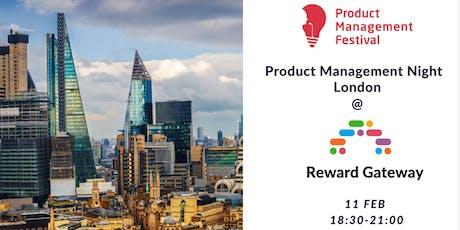 Product Management Night London @Reward Gateway tickets