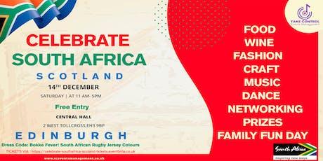 Celebrate South Africa Scotland tickets