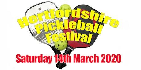 Hertfordshire Pickleball Festival 2020 tickets
