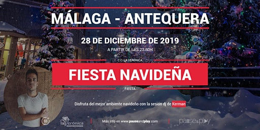 Evento Fiesta navideña con Kerman en Pause&Play La Verónica