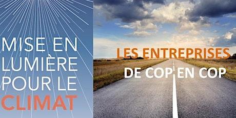 Mise en Lumière pour le climat : les entrepreneurs de COP en COP tickets