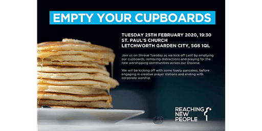 Empty Your Cupboards - RNP Prayer Evening (RNP)