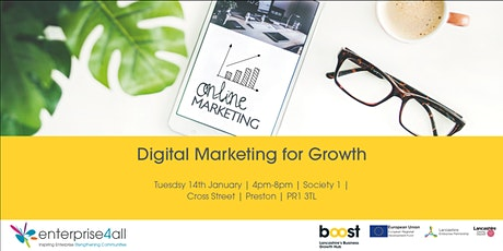 Digital Marketing for Growth tickets