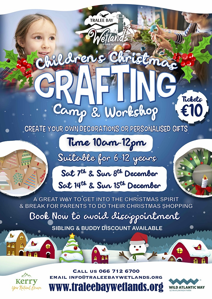Children's Christmas Crafting Camp & Workshop image