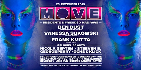 MOVE Residents and Friends Xmas Rave Tickets