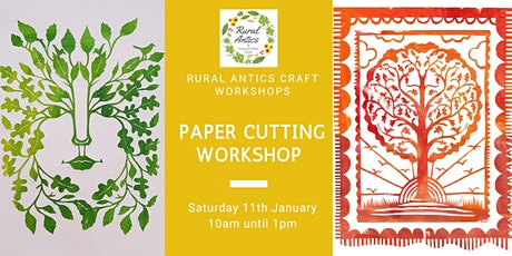 Paper Cutting for Beginners Workshop tickets