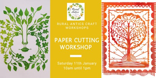 Paper Cutting for Beginners Workshop