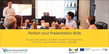 Perfect your Presentation Skills tickets