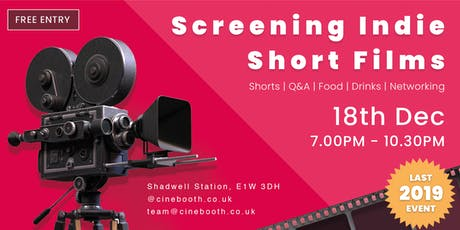 Screening Indie Short Films - Final 2019 Big Event tickets