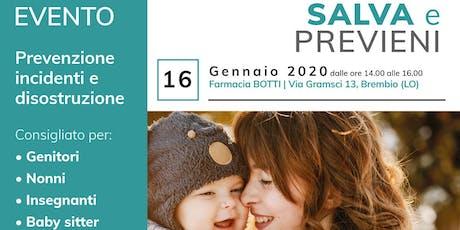 SALVA e PREVIENI_Farmacia Botti biglietti