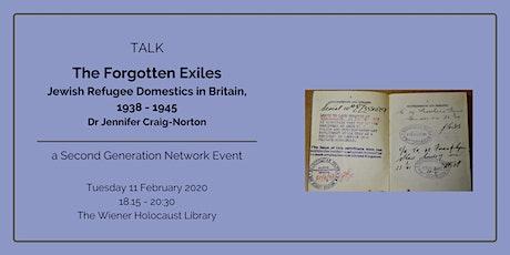 Talk: The Forgotten Exiles - Jewish Refugee Domestics in Britain, 1938-1945 tickets