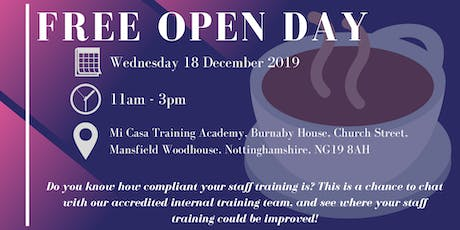 FREE Social Care Training Assessment & Networking Event - OPEN DAY tickets