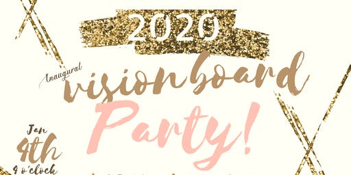 """A Seat at the Table"" Vision Board Party 2020"