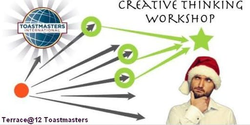 Creative Thinking Workshop with Terrace@12 Toastmasters