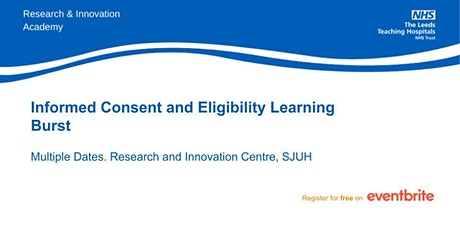 Consent and Eligibility Learning Burst- virtual teaching tickets