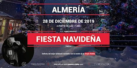 Evento Fiesta navideña con Sergio Robles en Pause&Play Torrecárdenas entradas