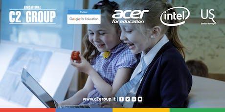 Soluzioni didattiche innovative per rispondere alle esigenze della scuola biglietti