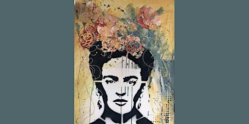 Frida Kahlo Paint and Sip Brisbane 4.1.20