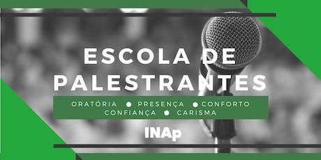 ESCOLA DE PALESTRANTES - INTENSIVO ingressos