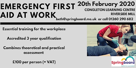 Emergency First Aid At Work tickets