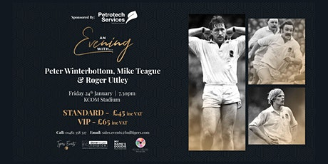 An Evening With Peter Winterbottom, Mike Teague & Roger Uttley tickets