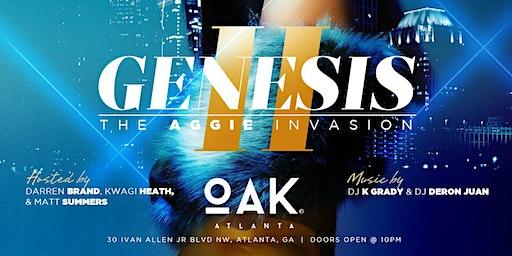 GENESIS |@ OAK(Atlanta) | Hosted by Darren Brand + Fred Whit + Kwagi Heath