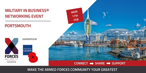 Military in Business Networking Event- Portsmouth