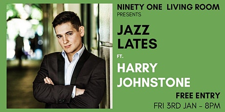 Jazz Lates: Harry Johnstone tickets