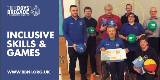 Inclusive Skills and Games Training with Disability Sport NI