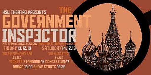 The Government Inspector (SATURDAY NIGHT SHOW)