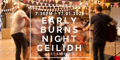 Early Burns night Ceilidh Dancing tickets