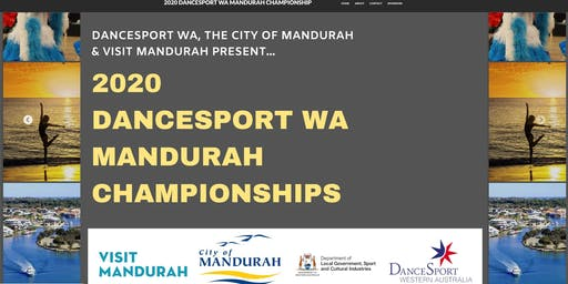 2020 DANCESPORT WA MANDURAH CHAMPIONSHIP