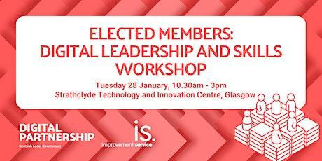 Elected Members: Digital Leadership and Skills Workshop tickets