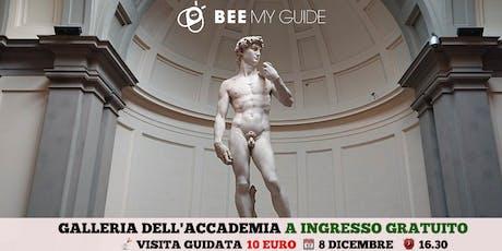Galleria dell'Accademia con ingresso gratuito entradas
