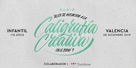 ✍️ Taller INFANTIL de Caligrafía Creativa. RUBIO - 28 Diciembre  - Valencia entradas