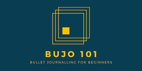 Bullet Journalling for Beginners tickets