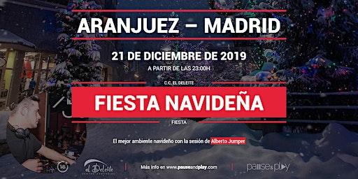 Evento Fiesta navideña con Alberto Jumper en Pause&Play El Deleite