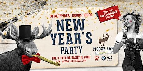 Moose Bar NYE 'Hasselt' tickets
