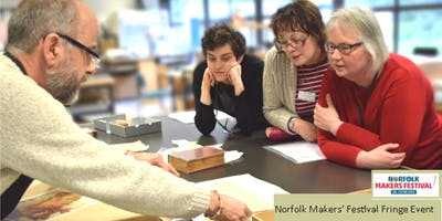 Behind the Scenes at the Norfolk Record Office - Art in the Archives