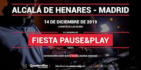 Evento Fiesta Pause&Play con Ktalin en Pause&Play Quadernillos entradas