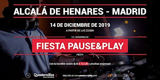 Evento Fiesta Pause&Play con Ktalin en Pause&Play Quadernillos