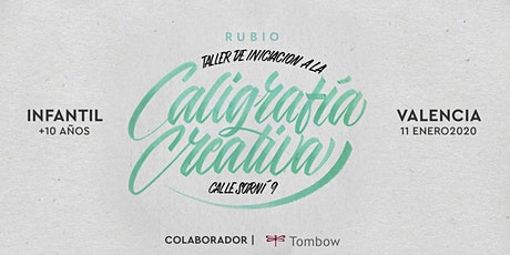 ✍️ Taller INFANTIL de Caligrafía Creativa. RUBIO - 11 Enero  - Valencia entradas