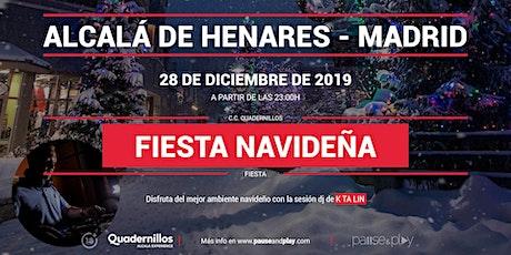 Evento Fiesta navideña con Ktalin en Pause&Play Quadernillos tickets