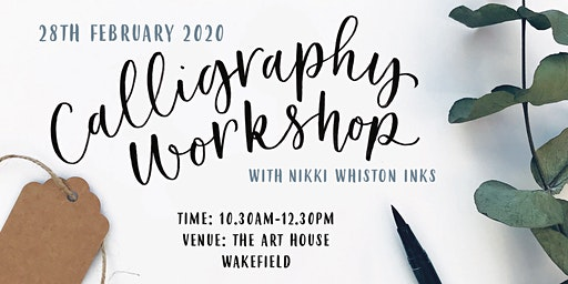Beginner Modern Calligraphy Workshop - Brush Pen