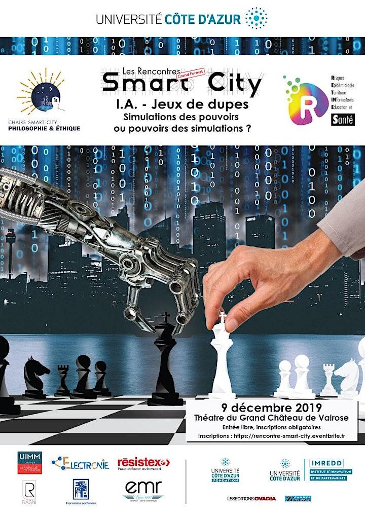 Image pour Les Rencontres Smart City - I.A. - Jeux de Dupes