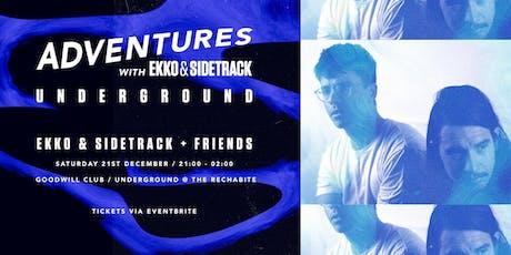 Adventures with Ekko and Sidetrack: Underground tickets