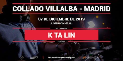 Sesión DJ Ktalin en Pause&Play Planetocio