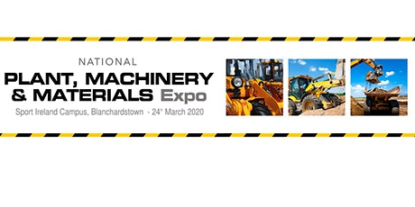 The Plant, Machinery and Materials Expo tickets