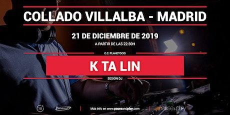 Sesión DJ Ktalin en Pause&Play Planetocio entradas