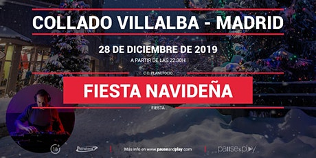 Evento Fiesta navideña con Jaime AB en Pause&Play Planetocio tickets
